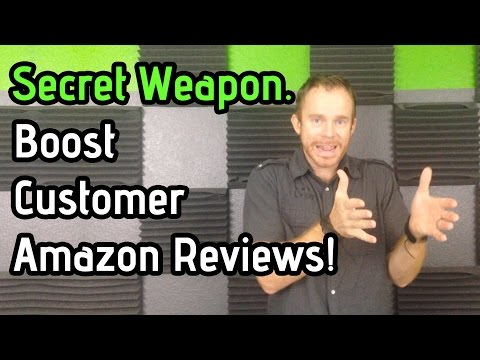My Secret to Boosting Amazon Reviews and Positive Seller Feedback