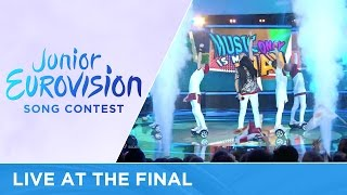 Alexander Minyonok - Musyka moih pobed (Belarus) LIVE Junior Eurovision 2016