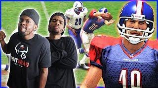 THE CRAP TALK HAS HIM HEATED! - 2K Sports All-Pro Football 2K8   #ThrowbackThursday