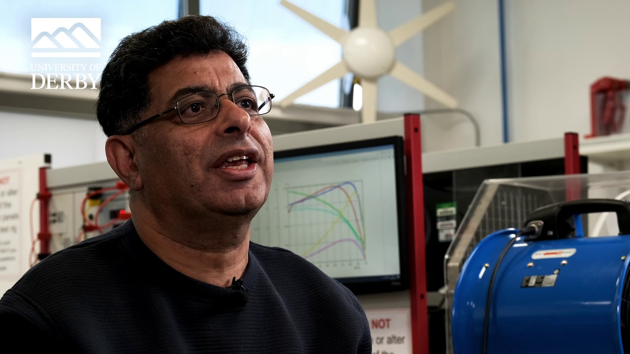 Dr Ahmad Kharaz, Associate Professor in Intelligent Instrumentation.