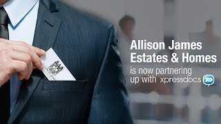 Gambar cover Allison James Estates and Homes is now partnering up with XpressDocs