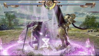 SOUL CALIBUR VI - Kayane (Geralt) VS Keev (Siegfried, Nightmare) - E3 Build