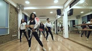 QUE ME BAILE   Choreography By GIZEH LEGUA  #beckyg #chocquibtown #dance #peru