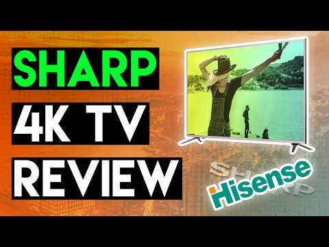 SHARP 4K TV REVIEW - BEST BUDGET TELEVISION?