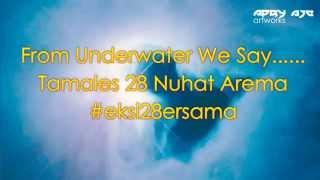 Underwater Session Aremania Ulang Tahun Arema 28 By Apry Aje Artworks