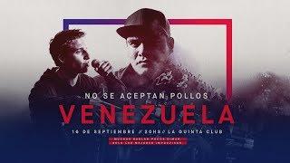 No Se Aceptan Pollos - Final Nacional Venezuela 2018   Red Bull Batalla De Los Gallos