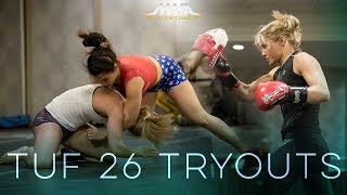 TUF 26 Tryouts - MMA Fighting