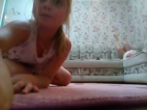 2 часть гимнастика челендж•Ангелина VS Кристина•