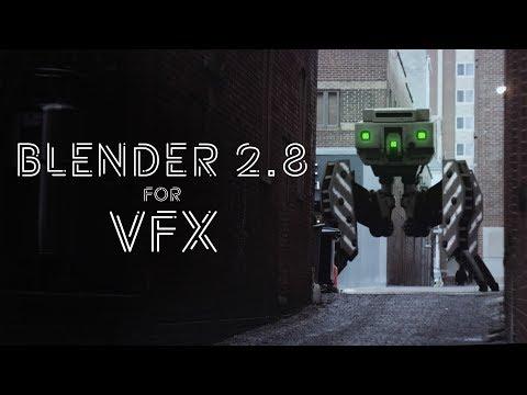 Raptor l VFX breakdown l REEL l after effects and Blender