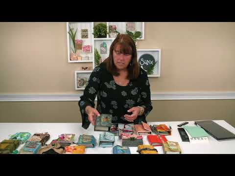 DIY Journal Inspiration with Eileen Hull | Sizzix