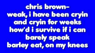 superhuman by chris brown feat.keri hilson lyrics
