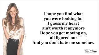 Carly Pearce, Lee Brice - I Hope You're Happy Now (Lyrics)
