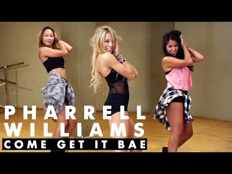 Pharrell Williams - Come Get It Bae ft. Miley Cyrus (Dance Tutorial) | Mandy Jiroux