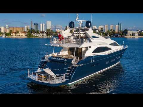 Sunseeker 90 Yacht video
