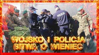 WOJSKO I POLICJA - BITWA o Wieniec! PARANOJA! Upodlenie Wojska!