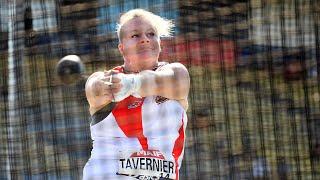 Albi 2020 : Alexandra Tavernier avec 72,76 m au lancer du marteau
