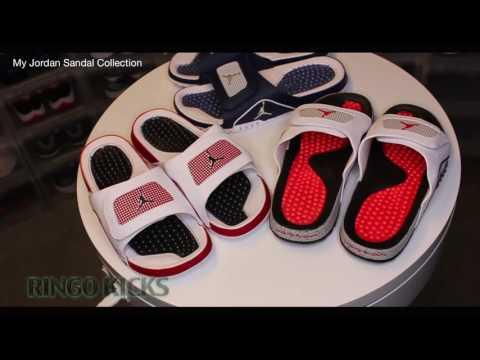 My Jordan Hydro Sandal Collection (RingoKicks)