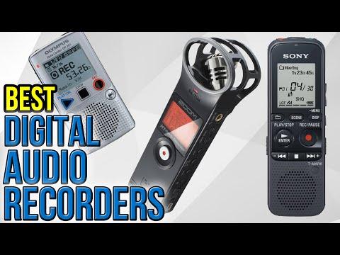 10 Best Digital Audio Recorders 2017