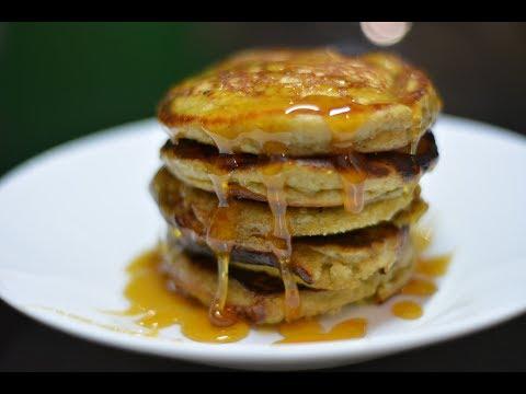 How to make Oat and Banana Pancakes