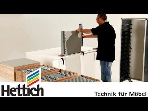 ArciFit 100 : aide au montage pour les tiroirs ArciTech de Hettich