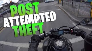 AFTER 4 BOYS TRYING TO STEAL MY MOTORCYCLE | MT 07