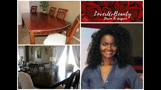 DIY:  Up-cycle Of Formal Dining Room Set