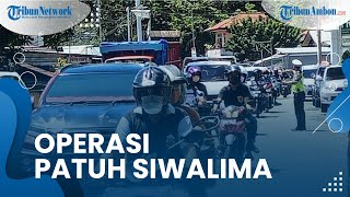 Polda Maluku Mulai Gelar Operasi Patuh Siwalima 2021 pada 20 September