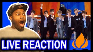 BTS Performs 'Fire' Live on GMA Full Performance REACTION