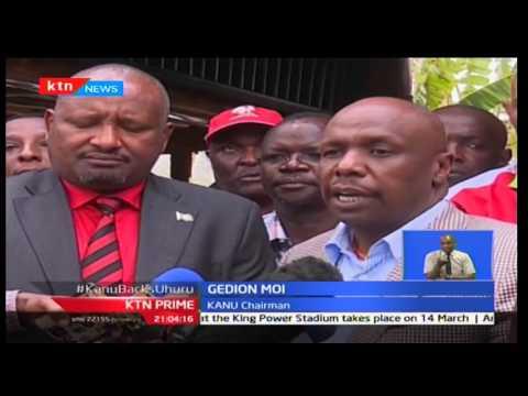 KANU gives NASA a cold shoulder as it opts back Uhuru Kenyatta's Jubilee's presidential bid