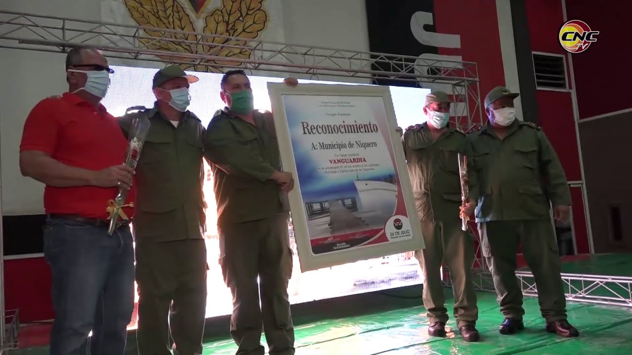 Reconocen al municipio Niquero este 26 de julio por su impacto económico en el país