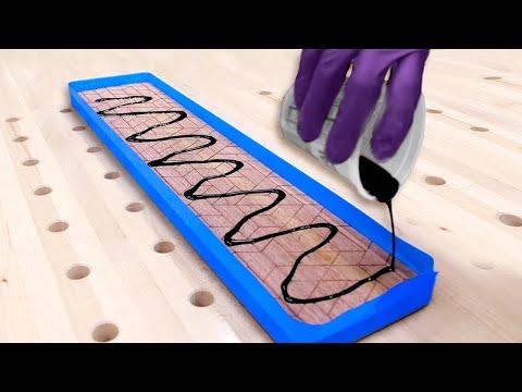 Modern DIY Desk with Hidden Cable Management