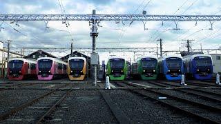 shizuoka rainbow trains 総集編