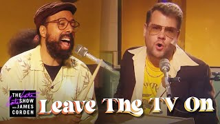 'Leave the TV On' - Silk Sonic Parody