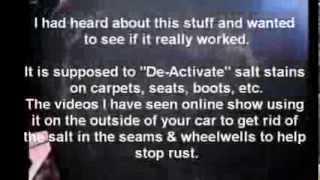 Watch Krown's SALT ELMINATOR SOAP in action
