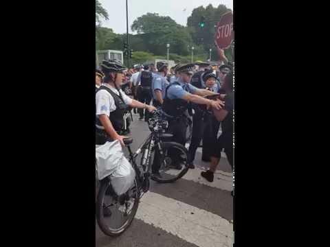 , title : 'Anti Police Brutality march in Chicago:  Philando Castile Alton Sterling'