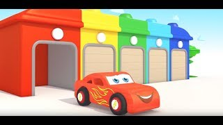 ЦВЕТА МАШИНКИ ТРАКТОР АНГЛИЙСКИЙ Learn Colors for Kids Children Toddler