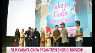 <b>Vebby Palwinta</b> Dan Fachri Muhammad Nobar Film Cahaya Cinta Pesantren  Obsesi 13/01