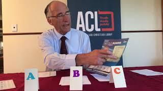 Australian Voting system explained - Peter Abetz