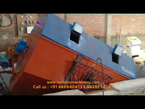 Electric Oven Type Rotational Moulding Machine
