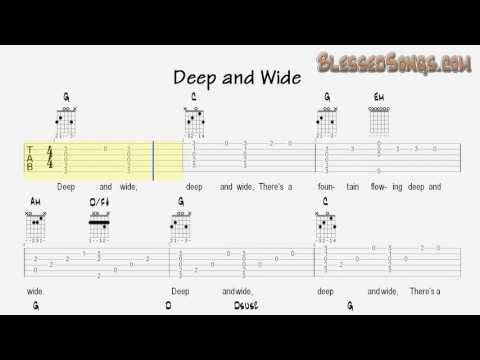 Funky Deep And Wide Guitar Chords Pattern - Beginner Guitar Piano ...
