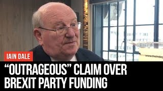 """Change UK MP Makes """"Outrageous"""" Claim Over Brexit Party Funding   Iain Dale   LBC"""