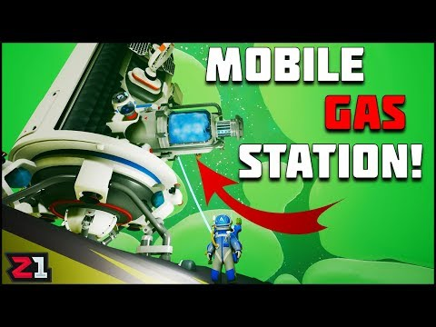 Large Shuttle and Building A Mobile GAS STATION ! Lets Play Astroneer Gameplay Ep.9 | Z1 Gaming