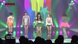 [140128] Supa Dupa Diva @ The Show - Dal★Shabet (달샤벳)