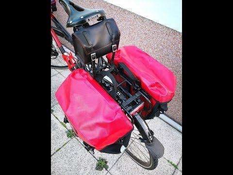 Schutz vor Scheuerstellen am Gepäckträger / Gepäcktasche (schnell, einfach, effektiv)