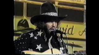 Living on the Run - David Allan Coe RARE 1975 Video Performance