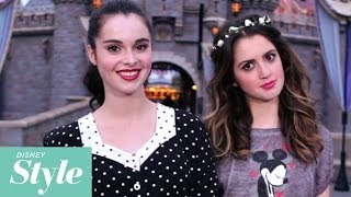 Laura And Vanessa Marano Show Off Their Disney Style