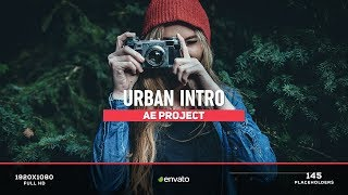 Urban Intro - After Effects Template