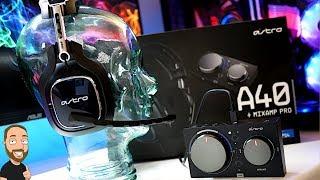 Das neue ASTRO A40 Tr & Mixamp Pro | Gen 4 | Lohnt es sich ???