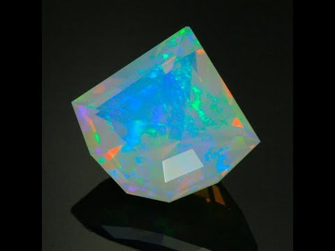 Faceted Ethiopian Opal Weighs 14.70 Carats*