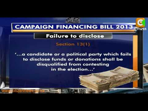 Election Campaign Financing Bill